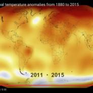 Kohlendioxid + Temperatur der Erde auf Rekordhoch